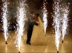 jet de scene etincelles mariage anniversaire